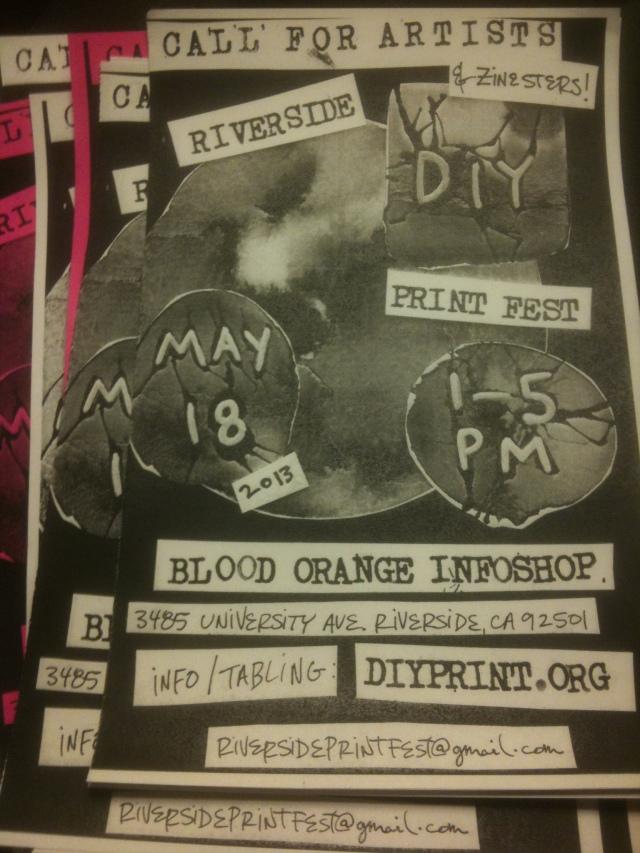 Riverside DIY Print Festival 2013